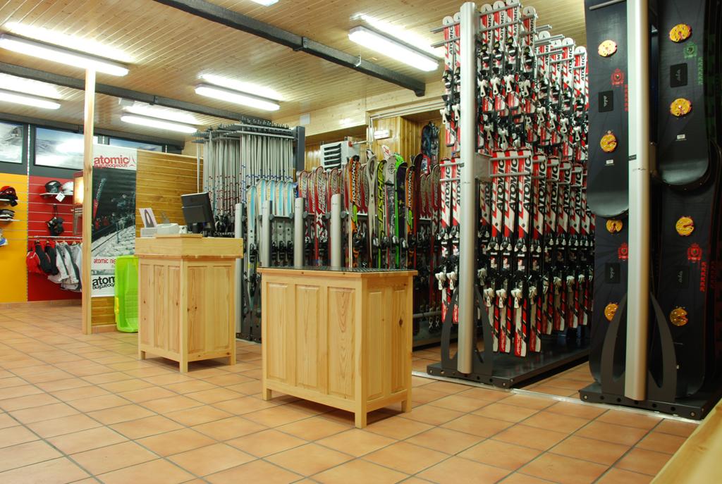Alquiler de material, tienda y reparación